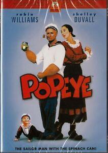 POPEYE - ROBIN WILLIAMS - NEW & SEALED DVD FREE LOCAL POST
