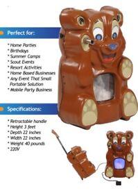 Mobile Teddy Bear Stuffing Machine