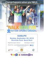 Looking for Volunteers for Guelph's First walk for autism