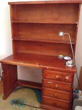 FREE Wooden Desk with 4 draws and shelves Wahroonga Ku-ring-gai Area Preview