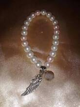 Pearl & Tibetan Charm Bracelet.....Excellent Christmas Gift Valentine Lake Macquarie Area Preview