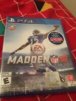 MADDEN 16 SEALED (PS4)