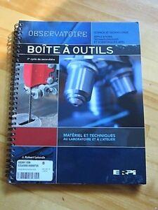 Observatoire BoÎte à outils