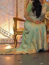 wedding trail dress size 8