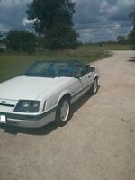 1985 Convertible mustang. Mint! Condition a must see.