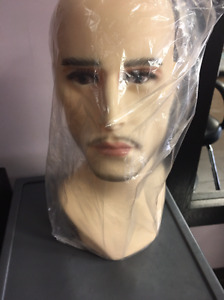 Male Mannequin Head Wholesale Display For Hats Wigs Scarves