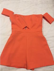 Kookai Orange Jumpsuit St Kilda Port Phillip Preview