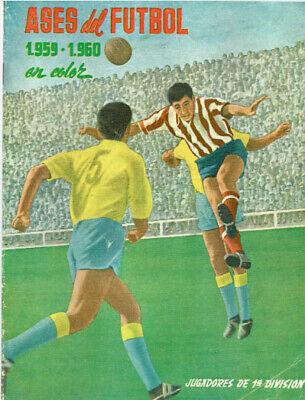 STICKER ALBUM FACSIMIL ASES DEL FUTBOL EN COLOR FERCA 1959 1960 1ª...