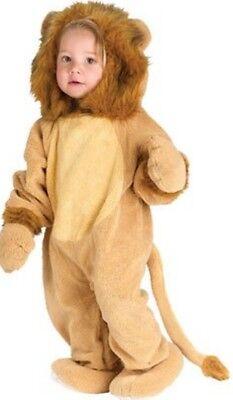 ★ Partylook Wild Löwe Lion Baby Tier kinderkostüm Plusche Kostüm Deluxe 62-74-80 ()