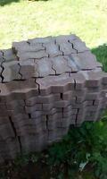 Paver bricks (driveway or patio)