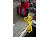 Clarke wiz air compressor with flexible pipe