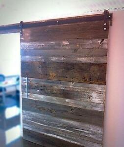 Custom Sliding Doors, Hardware, Rustic Custom Furniture