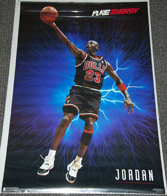 best cheap 711c9 63cd1 Michael Jordan PURE ENERGY 1996 Chicago Bulls (Nike Air Jordan XI Era)  POSTER