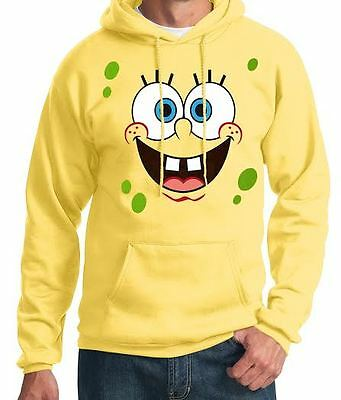 Big SpongeBob Face Adult Hoodie