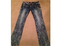 Jeans size 12 stretch