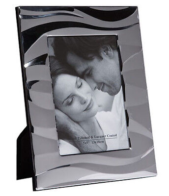 Silver Photo Picture Frame 4x6
