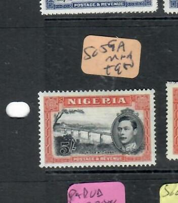 NIGERIA (P2705B) KGVI 5/-    SG 59A   MNH