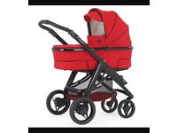 Bebecar travel system. Cot, puschair, carseat
