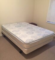 Double Mattress and Boxspring for Sale - $100 obo