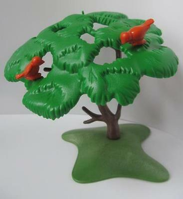 Playmobil Tree with small birds NEW Farm/dollshouse/forest scenery