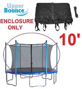 NEW UB TRAMPOLINE ENCLOSURE NET 10 FEET SAFETY NET FOR 6 POLES 113795999