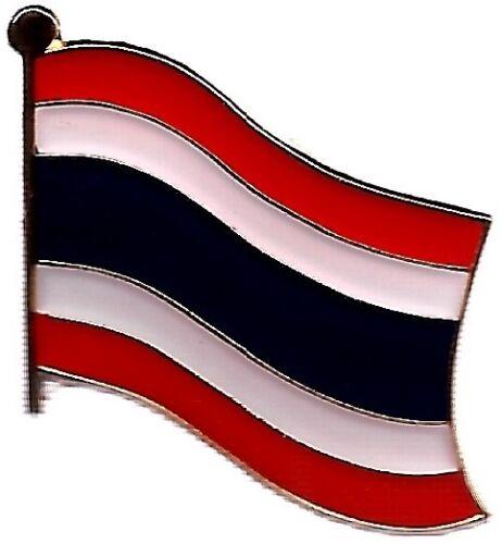 LOT OF 12 Thailand Flag Lapel Pins - Thailand Flag Pin