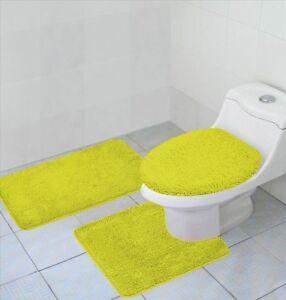 yellow bathroom set ebay