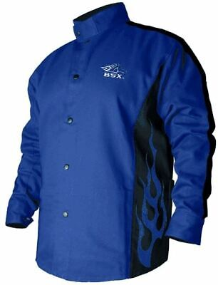 Black Stallion Fr Cotton Welding Jacket Bxrb9c Large