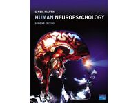 Human Neuropsychology by Neil G Martin 2nd Edition £20 ONO