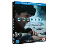 Dunkirk BLU-RAY (2 disc edition) like new condition.