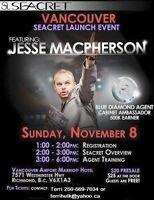 Vancouver SEACRET Launch Event
