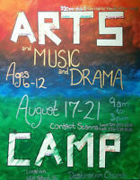 Arts and Music Day Camp for ages 6-12, St Thomas