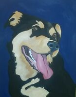 Pet Portraits on Canvas!