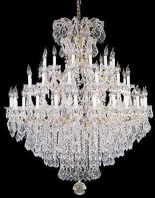 Large Foyer Chandeliers (Large Entryway Foyer Chandelier Crystal Chandeliers Lighting 52x60 )