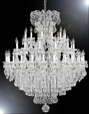 Large Foyer Chandeliers (Maria Theresa Large Entryway Foyer Chandelier Crystal Chandeliers Lighting 52x60 )