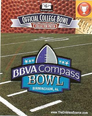 Bbva Compass Bowl Patch Various Schools Official Jersey Logo