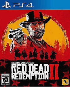 PS4 Red Dead Redemption 2 - $50