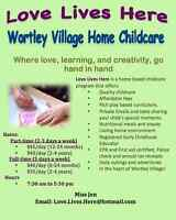 Home Daycare in Old South! Child Care in Wortley Village!