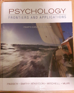 Psychology Frontiers and Applications (Fourth Canadian Edition)