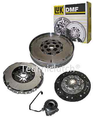 VAUXHALL ASTRA 1.7CDTI DUAL MASS DMF LUK FLYWHEEL, CLUTCH KIT WITH CSC