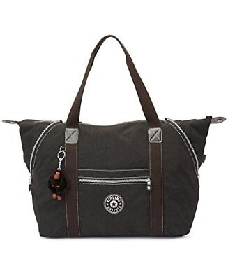 Brand new with tag Kipling Art M Large Tote, Black with white logo