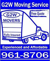 Moving and Delivery Moncton 70.00/hr truck and movers 961-8706
