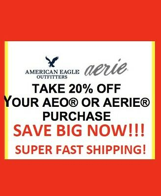 American Eagle Ae Coupon 20 Off Recivetoday 25 To 60 Off Everythin