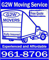 Moving and Delivery - $70/HOUR / or flat rate - truck and movers