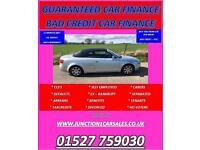 AUDI A4 1.8 CONVERTIBLE 2005 05 GUARANTEED CAR FINANCE BAD CAR CREDIT