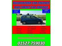 DIESEL TOURAN 1.9 TDI SE 7 SEATER VW 2007 07 GUARANTEED CAR FINANCE BAD CAR