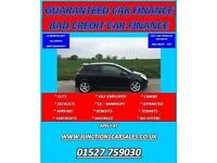 BLACK CORSA 1.4 SRI VAUXHALL 2010 10 - GUARANTEED CAR FINANCE BAD CAR CREDIT
