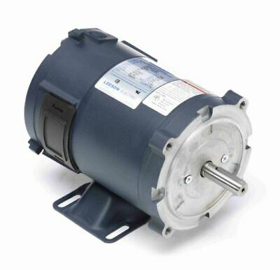 1//4 hp 1750RPM 90 Volts DC 56C Frame TEFC Leeson Electric Motor # 098002