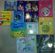 Set of 14 childrens books - 2 with CD's and 1 with cut-outs Iluka Joondalup Area Preview
