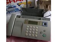 SHARP UX-BS60 fax machine